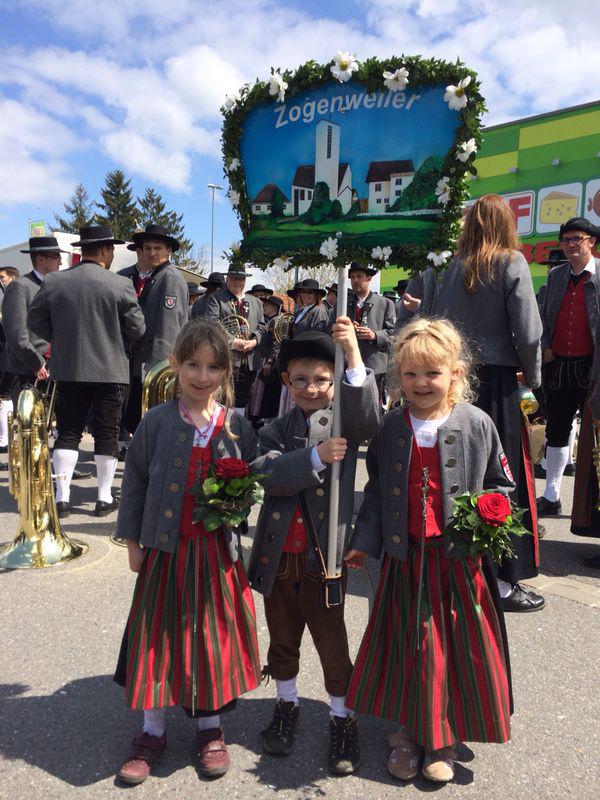 Festumzuüge in Amtzell und Fronhofen