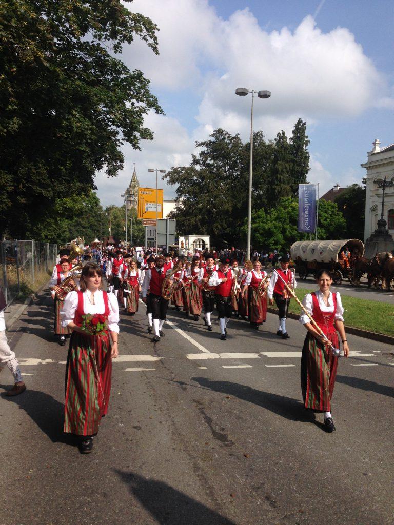Rutenfestumzug Ravensburg